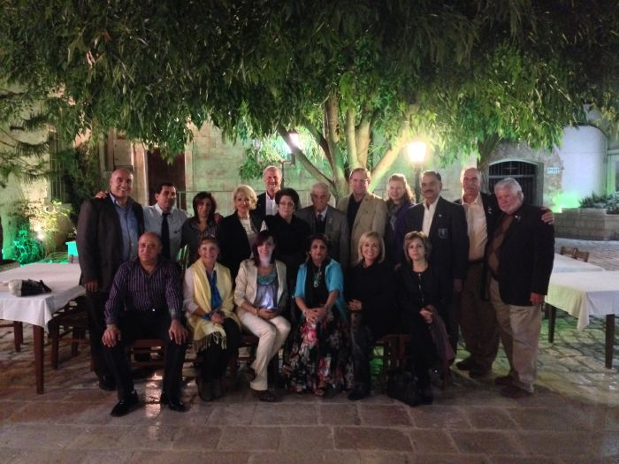 Rotary nazareth welcomed rotary couples from …