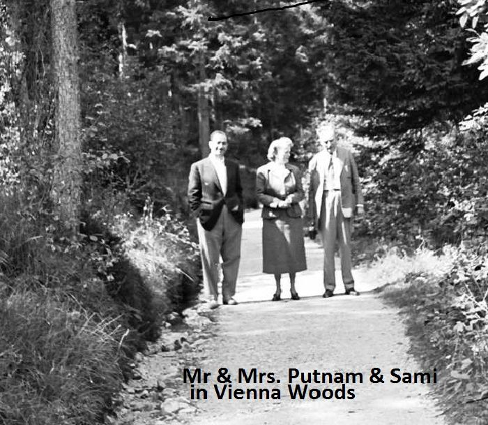 Dr. S. Geraysi with Putnams in Vienna Woods