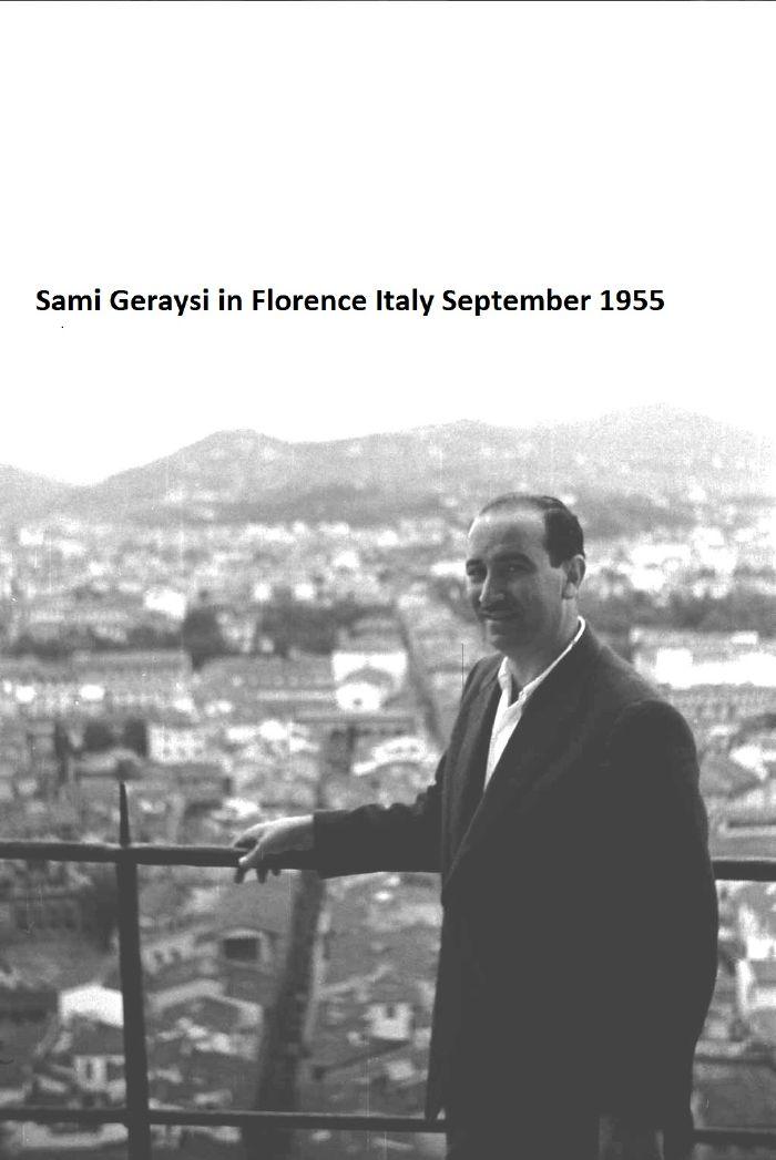 Sami Geraysi and florence Italy