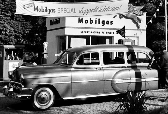 The Chevrolet Station we had in Europe 1955