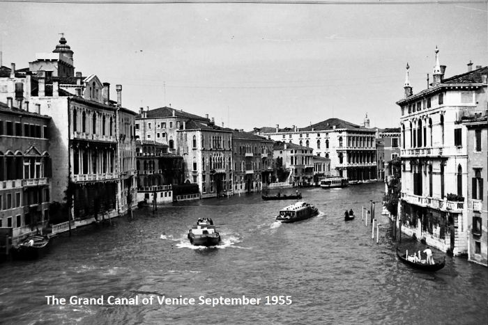 YMCA Cent. '55 Busses of the Grand Canal Venice