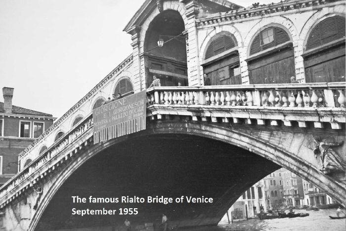 YMCA Cent. '55 Rialto Bridge Venice