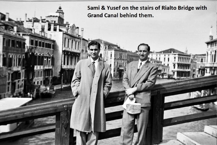 YMCA Cent. '55 Sami & Yusef in Venice