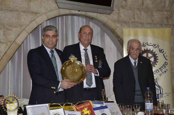 OFFICIAL VISIT OF ISRAEL ROTARY GOVERNOR TO N…