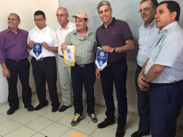 VISIT OF ZIKHRON YACOV CLUB TO NAZARETH