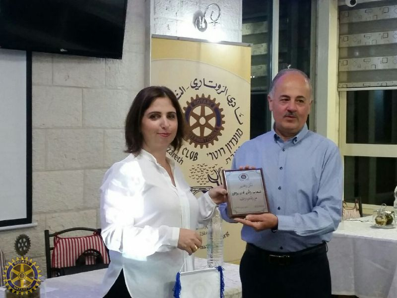 ROTARY CLUB OF NAZARETH HOSTS A SPEAKER ABOUT…