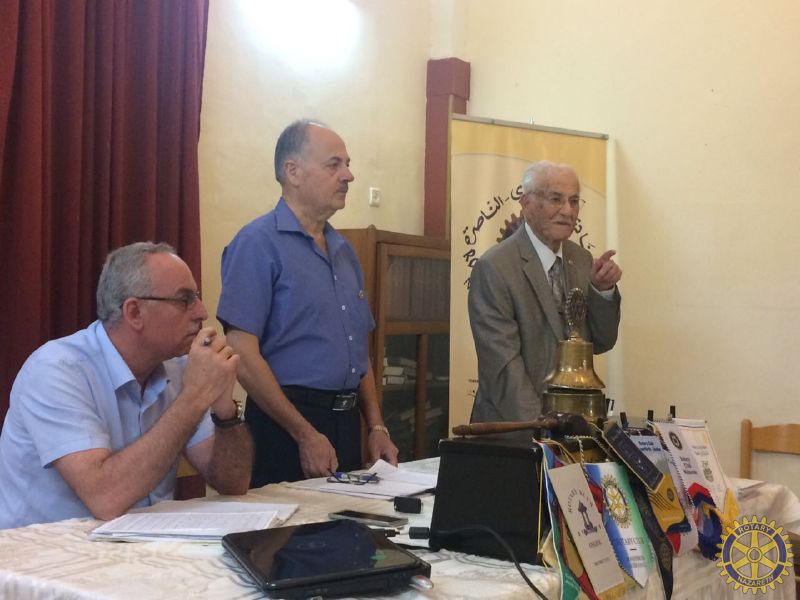 ROTARY NAZARETH MEMORIAL MEETING TO JUDGE KHA…