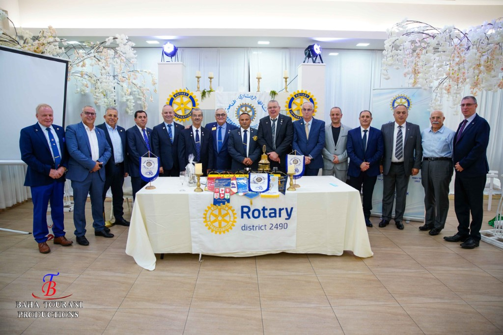 CHANGE OF PRESIDENTS IN THE ROTARY CLUB OF NA…